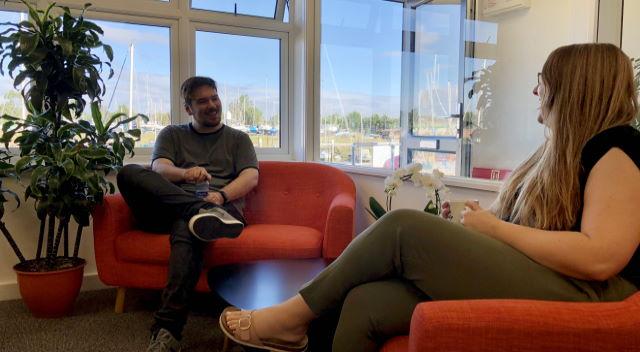 Jack Alderton Rose Ling Genesis Social Distancing in New Office